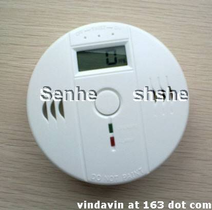 4.5V battery operated Independent carbon monoxide detector