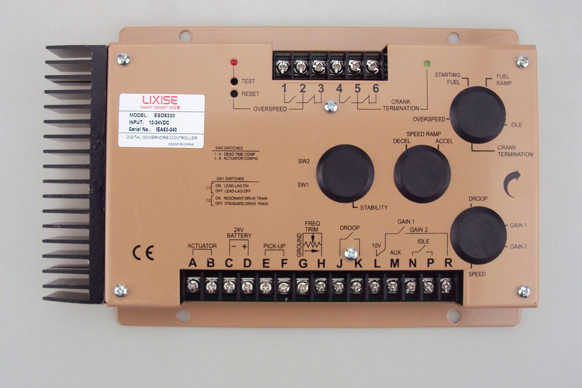GAC Speed Controller ESD5330E Generator electronic governor