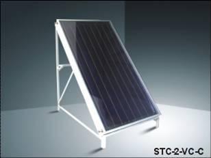flat solar collector
