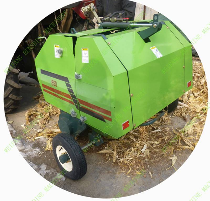 mini hay baler with CE certificate