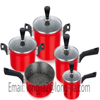 LJ Forged Aluminum non-stick Cookware- Factory