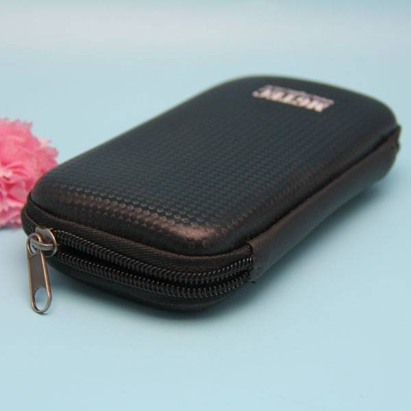 Black eva hard moulded glasses case