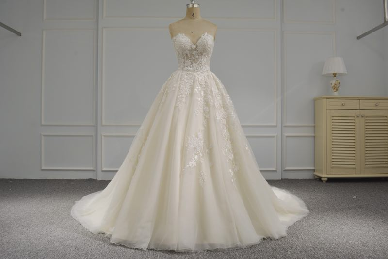 Custom Wedding Dress on sales by measurements