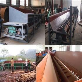 High efficience groove wood peeling machine for industry