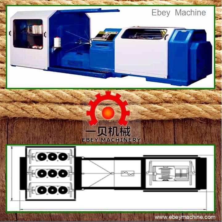 ACS-M44 Rope making machine