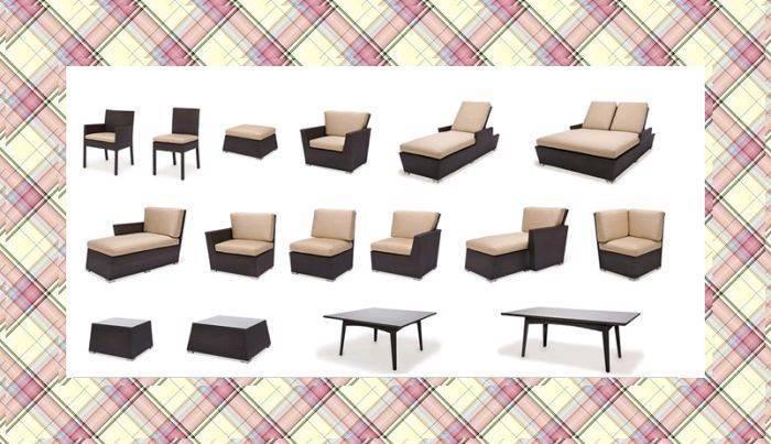 YLR-11400 rattan furniture 2011 lastest model