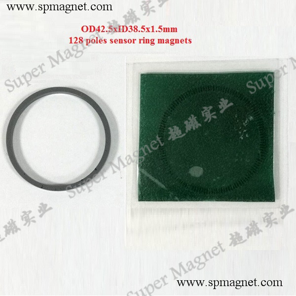 CR42.5x38.5x1.5mm Sensor Ring magnets -128poles