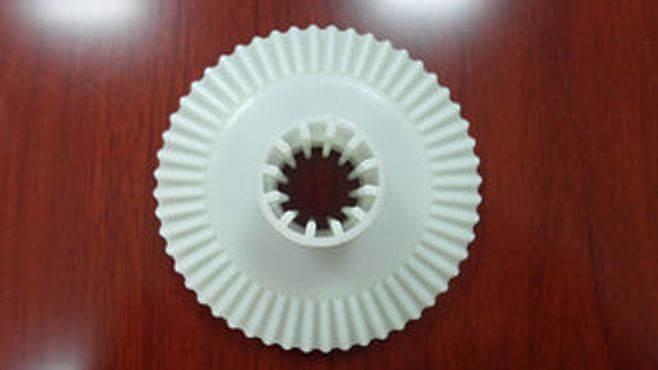 Plastic Gear Moulding - Injection Auto Parts 4 Cavities Plastic Gear Moulding With 3 Plates