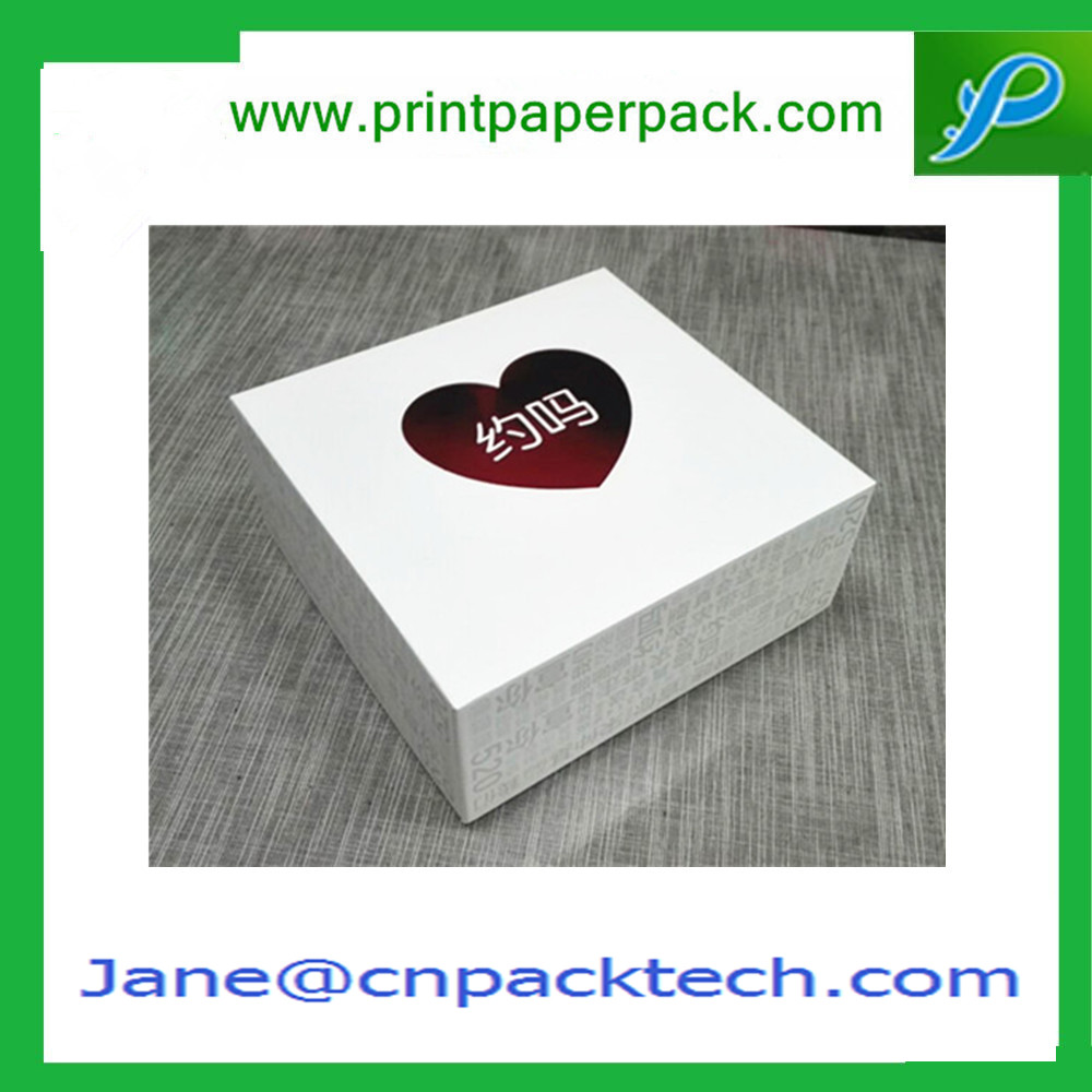 Custom Fashion Design Two Pieces Boxes Paper Gift Packaging Box
