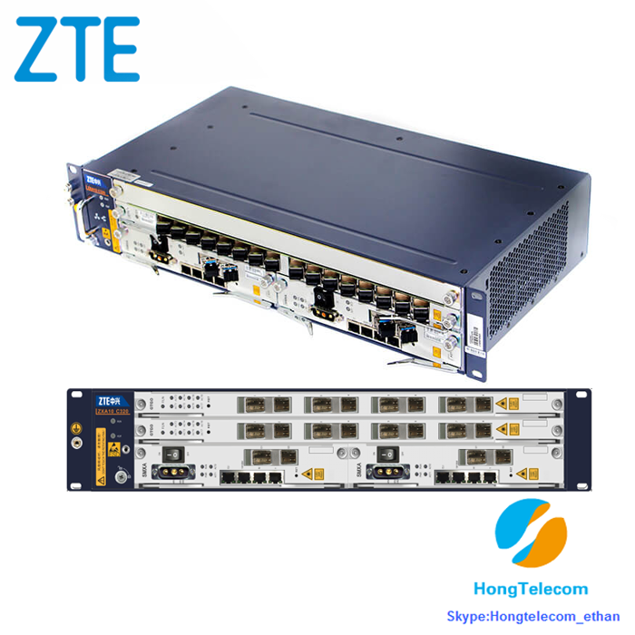 Original ZTE GPON EPON C300 C320 C220 OLT Fiberhome Huawei Available