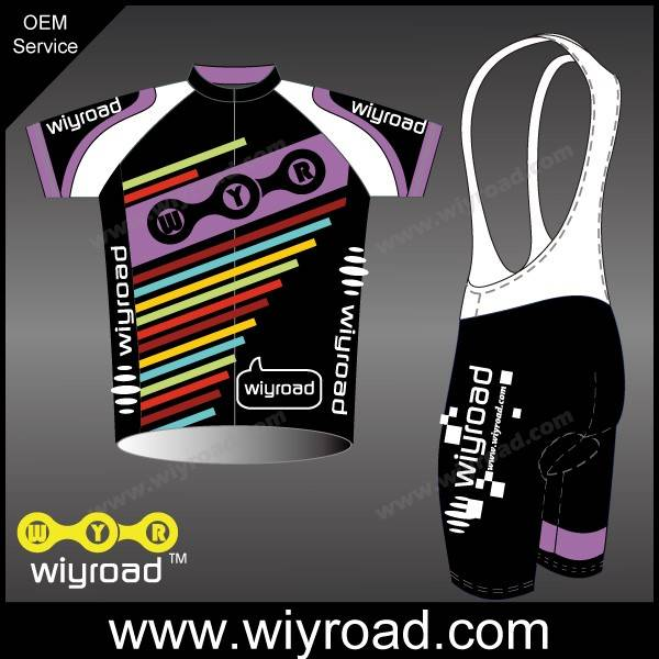 Accept sample order cycle gear clothing/quick dry bike jersey/bike wear with customized logo