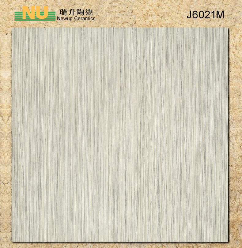 Wooden rustic porcelain floor tile for living room and study