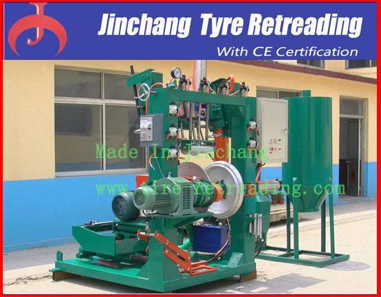 Used Tyre Retreading Machine-Tyre Buffing&Building Machine