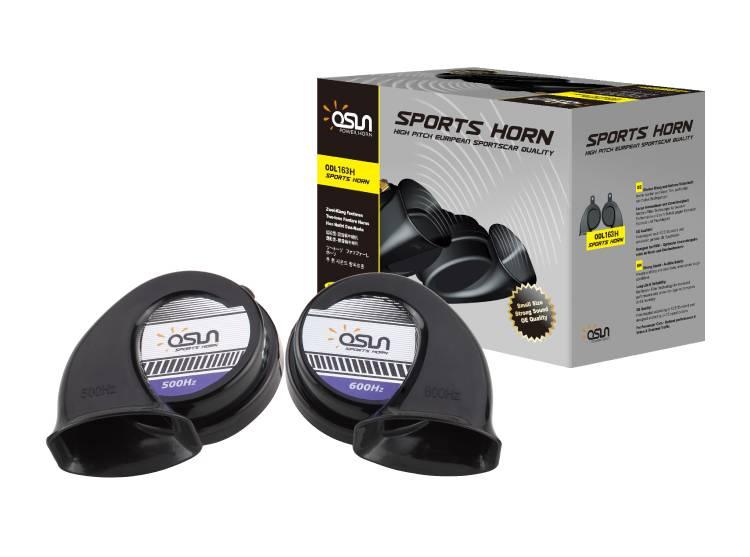 Osun ODL-163H Super-high Tone Sport Snail Horn