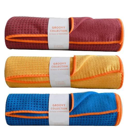 skidless yoga towel