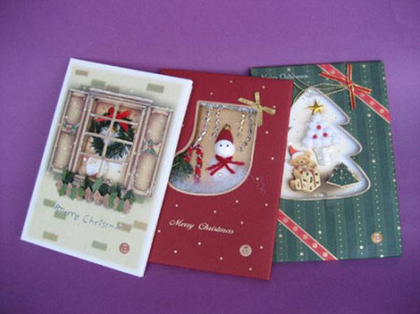 custom-made greeting card the best printing factory in Guangzhou City China