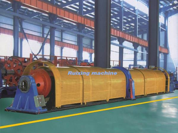 Tubular stranding machine  Usage  This equipment is used for twisting copper strand, aluminum strand