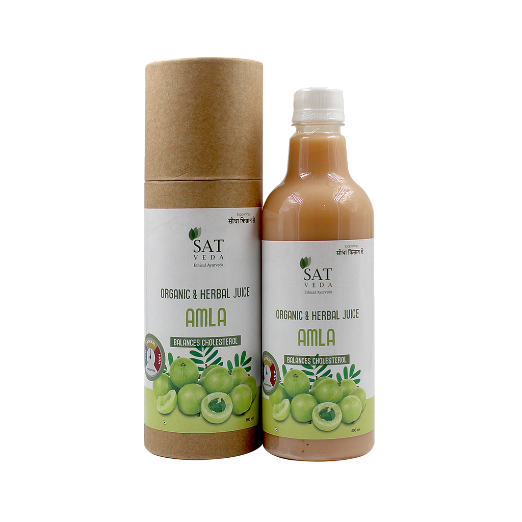 SAT VEDA Natural Amla Juice 500ml