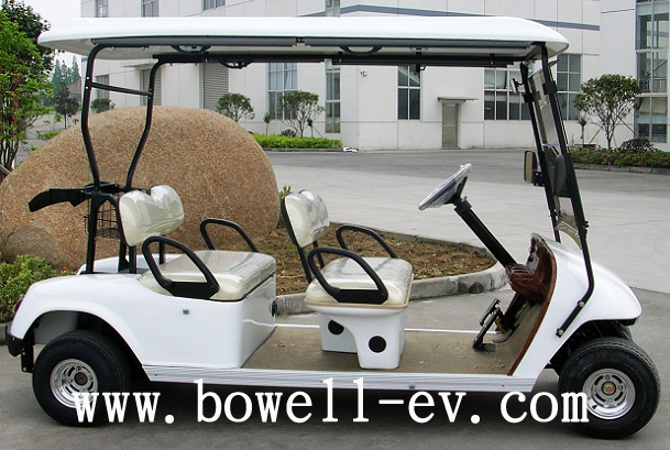 4 seat electric golf car