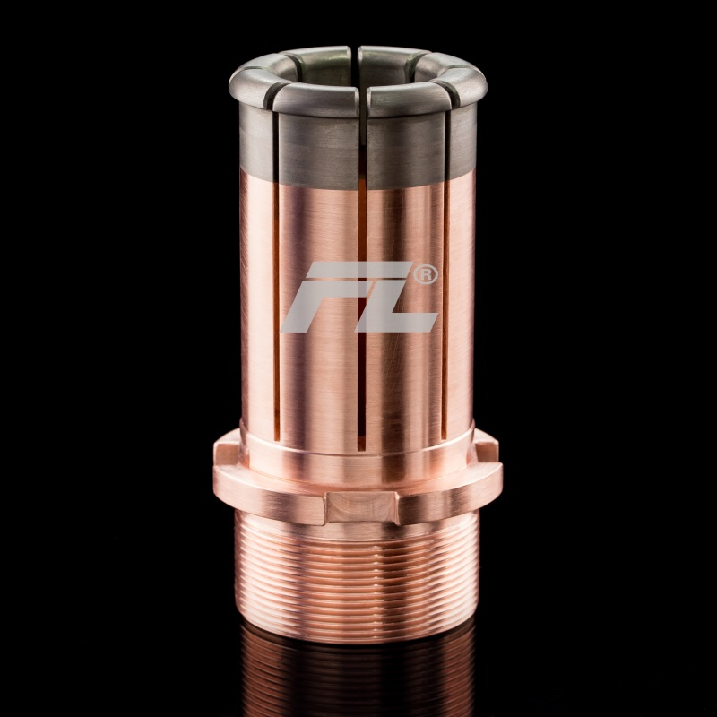Copper tungsten alloy electric contact