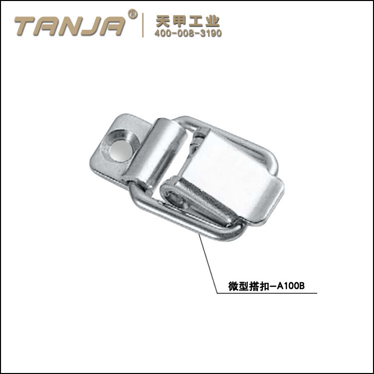 TANJA A100B stainless steel mini type toggle latch for cases locking and equipments / sus304 toggle