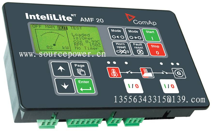 InteliLite NT AMF 20 IL-NT AMF 20 ComAp Auto Mains Failure Generating set Controller