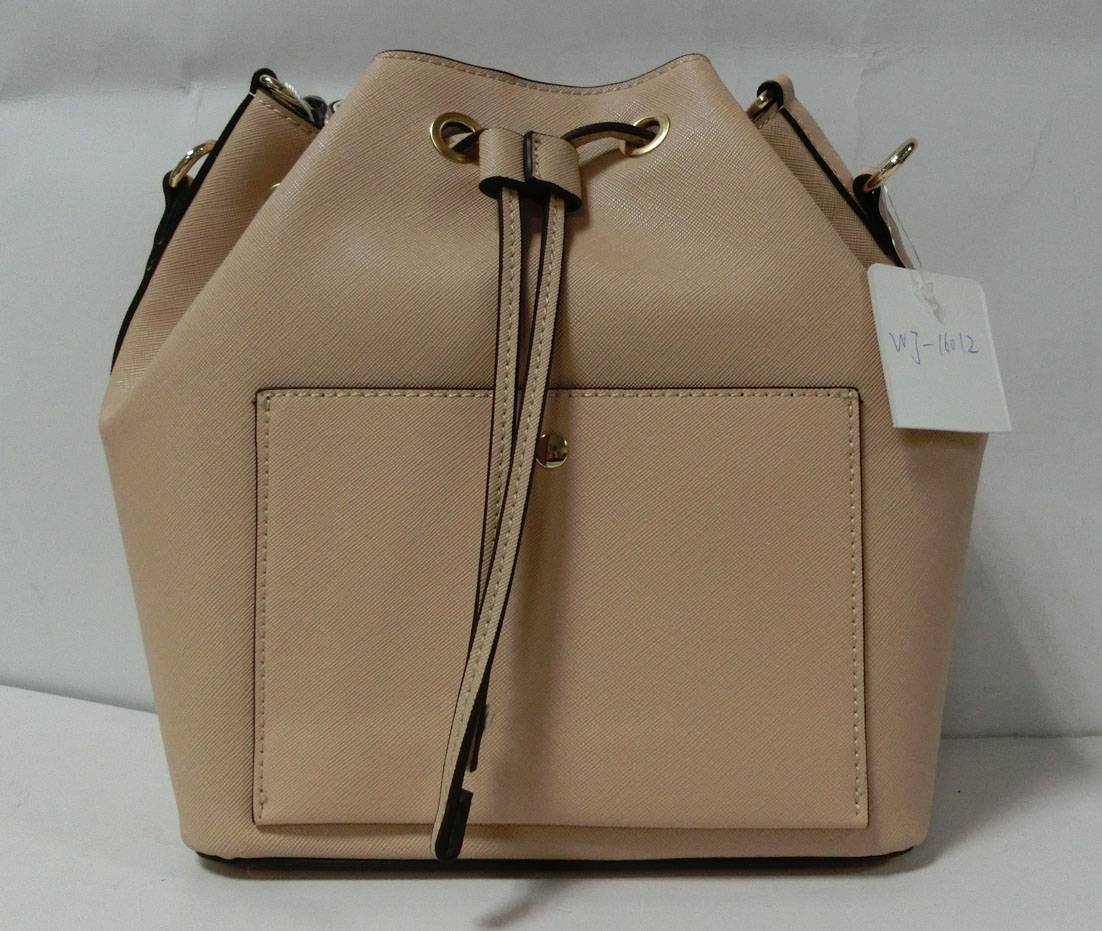 Good quality PU leather bucket bag handbag