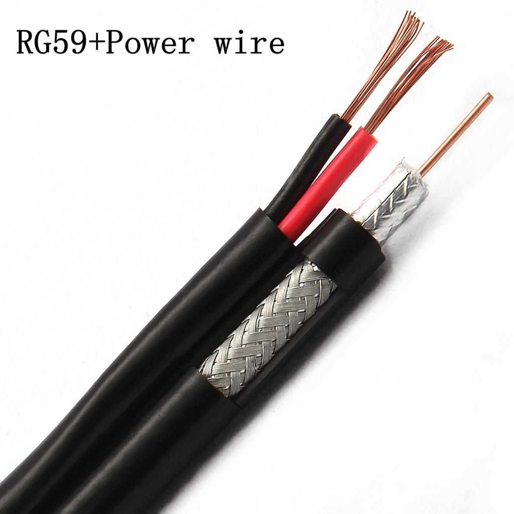 RG59+2C Coaxial Cable for CCTV System
