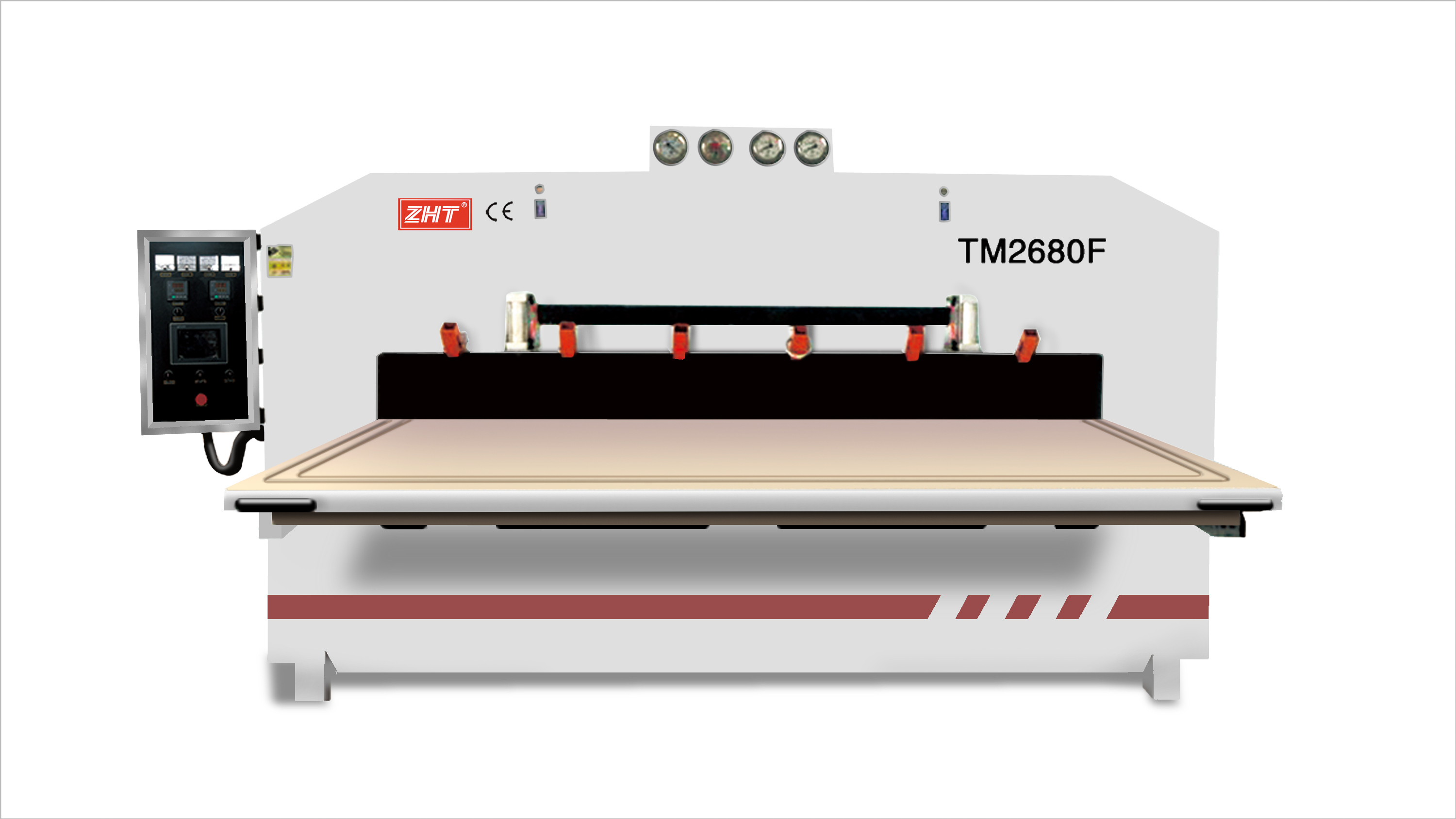 TM2680F TWO SIDES WOOD VENEER CORE BOARD NEGATIVE AND POSITIVE VACUUM MEMBRANE PRESS MACHINE CHINA