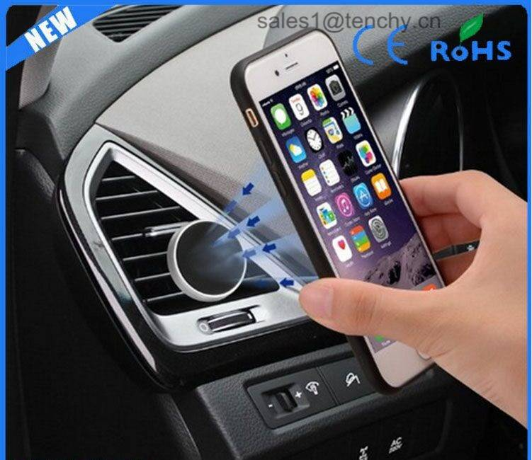 Magnetic Car Mount Holder for iPhone 6/6S and Andriod Cellphones, Magnetic Cell Phone Mount
