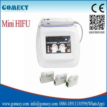 High Intensity Focused Ultrasound Hifu Korea Machine For Face Lifting With 3/5 Heads for free choose