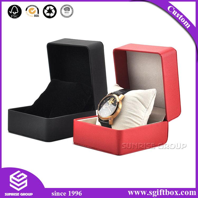 Cardboard Luxury Paper Packaging Gift Watch Box