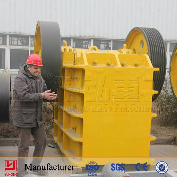 Yuhong PE750x1060 jaw crusher  for sale with ISO9001 certification