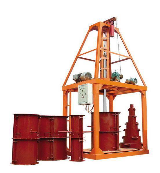 cement tube machine,concrete tube machine,pipe making machine,drain pipe machine