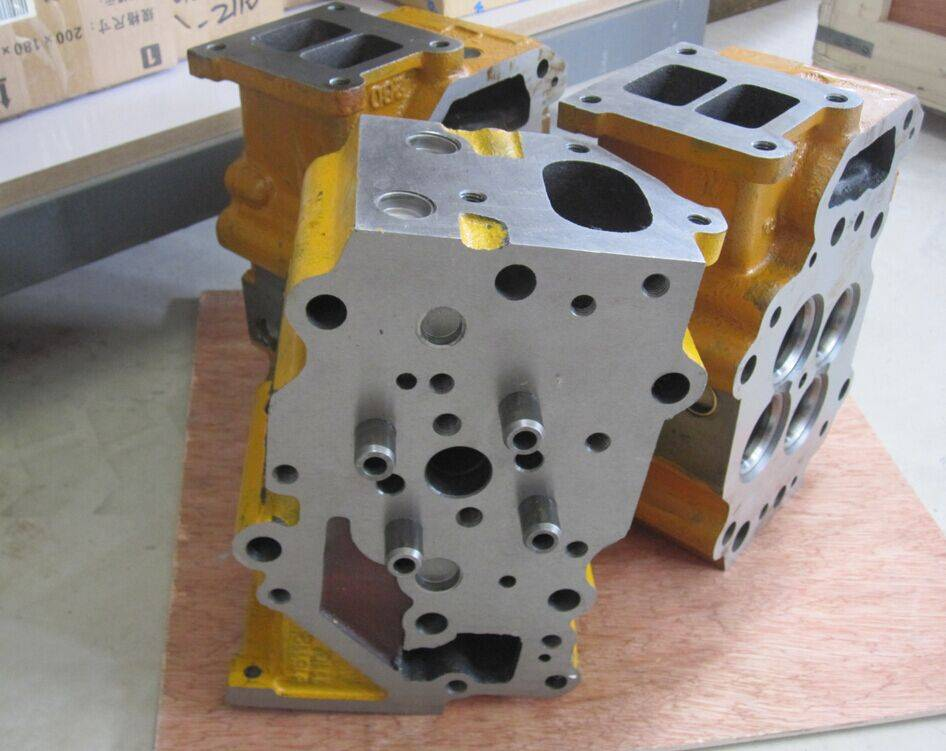 WA470 engine cylinder head 6151-11-1102,komatsu loader spare parts
