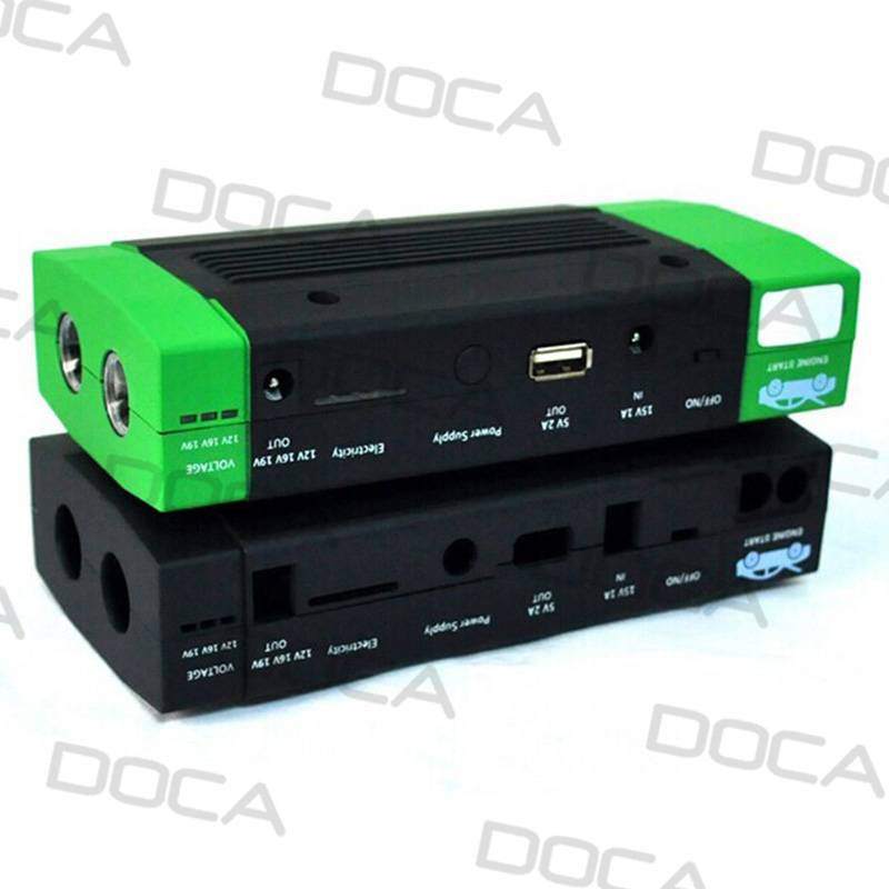 DOCA 15000mAh jump starter power bank for car