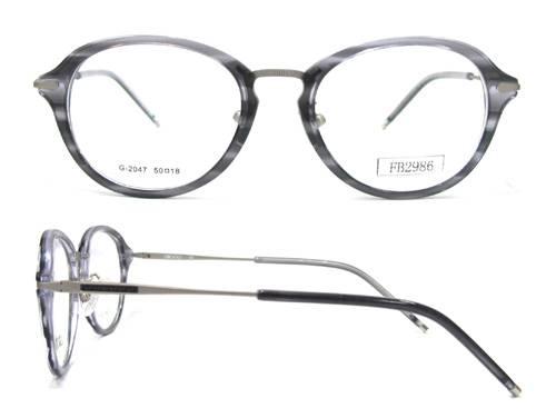 2016 high quality acetate eyeglass frames FB2986