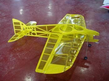 Airplane model(Profile electron plane)