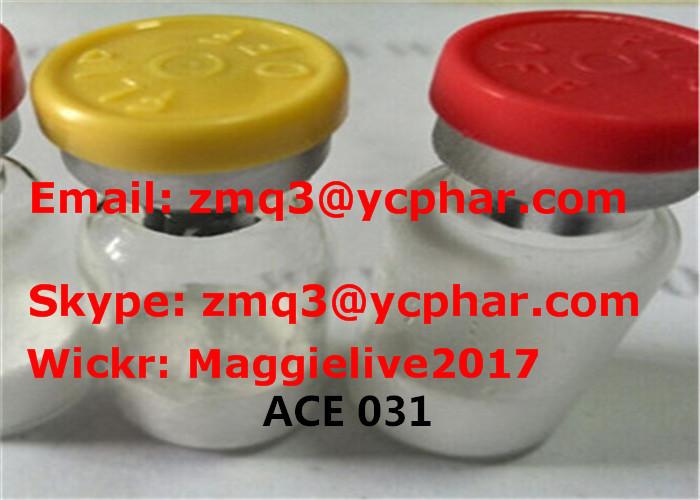 99% Purity Peptide ACE 031 Lyophilized Powder Pharma Peptides Muscle Building