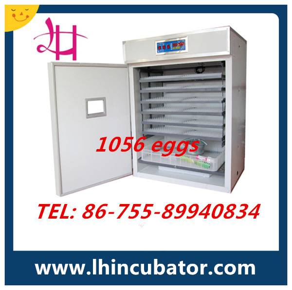 Holding 1056 Eggs Perfect Performance Commercial Chicken Egg Incubator Hatcher For Sale