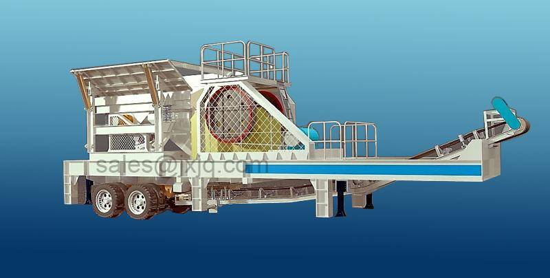 Mobile Cone Crusher/Mobile Crusher Manufacturer/Mobile Crushing Plant