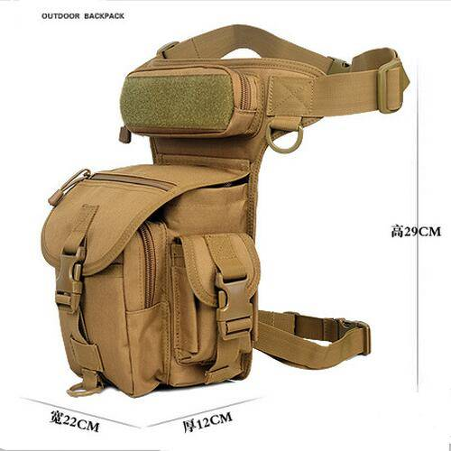 Tactical multi-purposes waist and leg bags