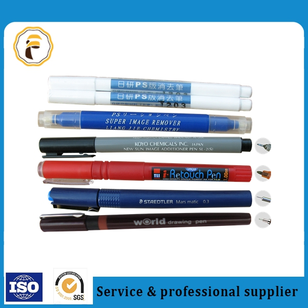 For offset printing, PS plate color correction pen, image remover pen