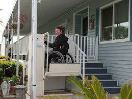 hydraulic vertical lift for disabled