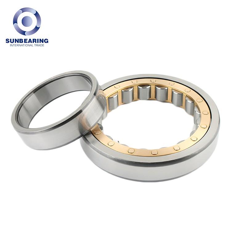 NU207EM Cylindrical Roller Bearing 35×72×17mm Chrome Steel