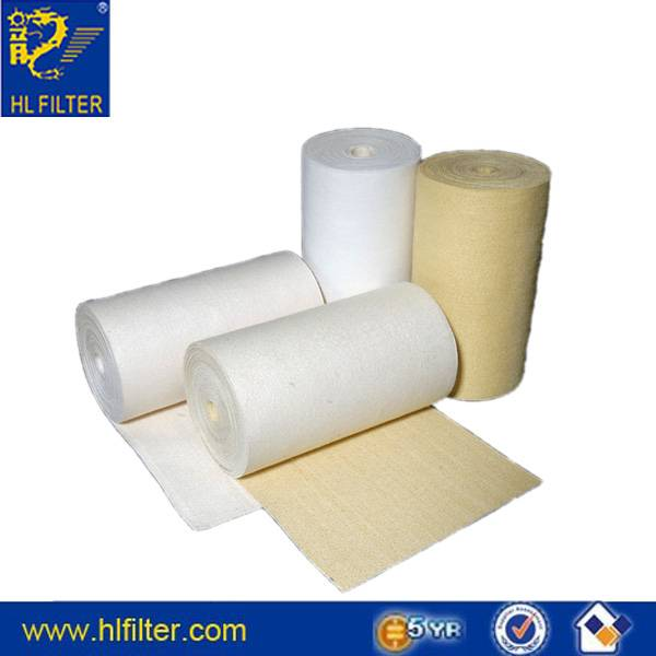 Made in China liquid / air filtration needle punched filter felt