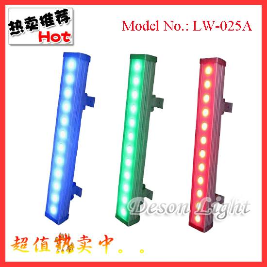 mdx 12pcs Tri-color RGB-IN-1 LED WALL WASHER LW-025A