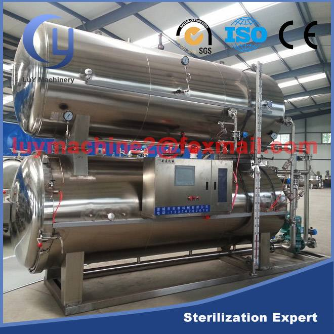 Factory price food sterilization equipment