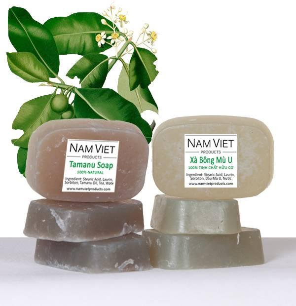 Natural Organic Skin Care Handmade Tamanu Soap