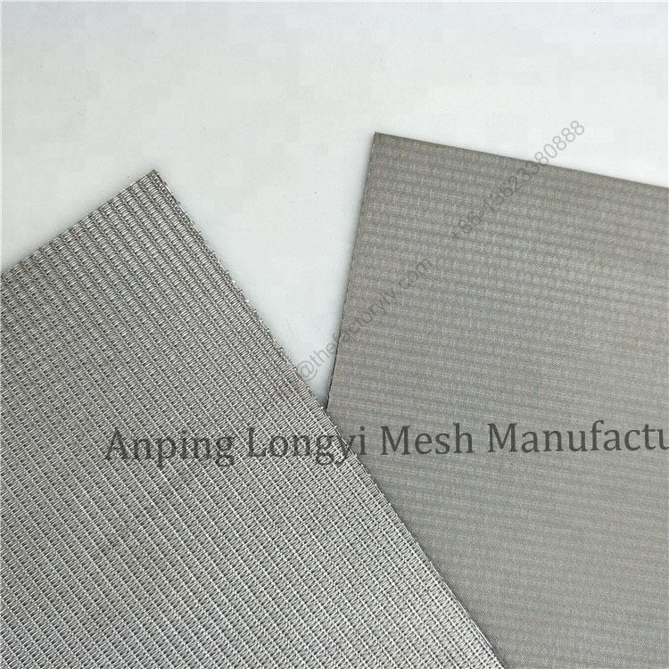 5-layer sintered wire mesh,sintered wire mesh filter elements, sintered wire mesh laminates